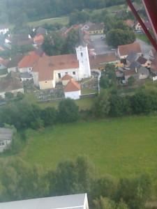 Kostel v Soběnově.